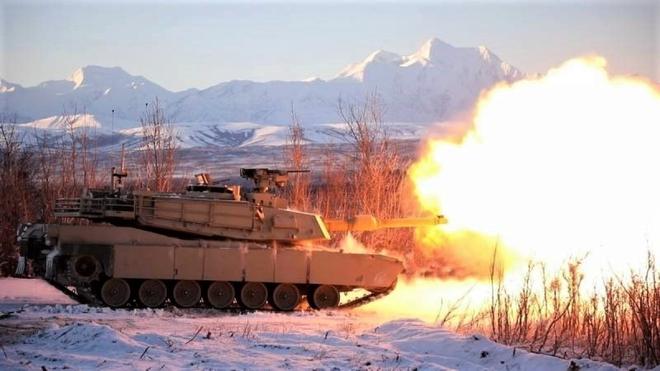 Mỹ hoàn thành thử nghiệm tăng M1A2C trong điều kiện khí hậu khắc nghiệt Alaska - ảnh 3