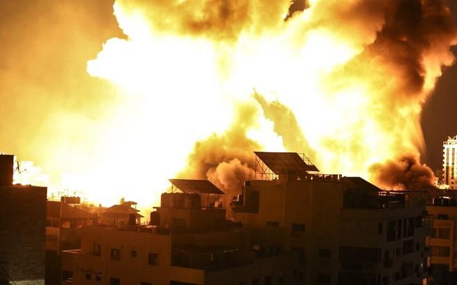 Tướng Israel ra tuyên bố nóng, cuộc chiến với Palestine sẽ có bước ngoặt lớn - UAV lạ xâm nhập Israel, rocket nã tới tấp - Ảnh 1.