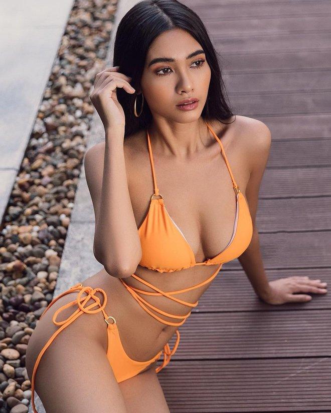 Nhan sắc của Hoa hậu Myanmar gây chú ý vì cầu cứu trên sân khấu Hoa hậu Hoàn vũ Thế giới? - Ảnh 12.