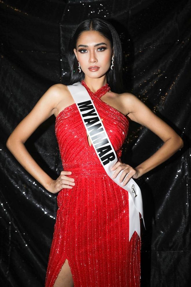 Nhan sắc của Hoa hậu Myanmar gây chú ý vì cầu cứu trên sân khấu Hoa hậu Hoàn vũ Thế giới? - Ảnh 3.