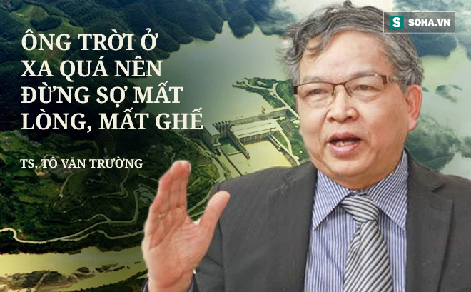 """""""Thưa GS Võ Tòng Xuân, nói Trung Quốc hoàn toàn vô can là không đúng"""""""