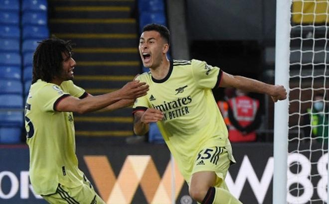 Thắng nhọc Crystal Palace, Arsenal nuôi hy vọng dự Cúp châu Âu