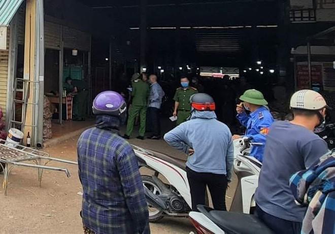 Hung thủ giết chủ ki-ot ở chợ đầu mối Thanh Hóa đã bị bắt giữ - Ảnh 2.