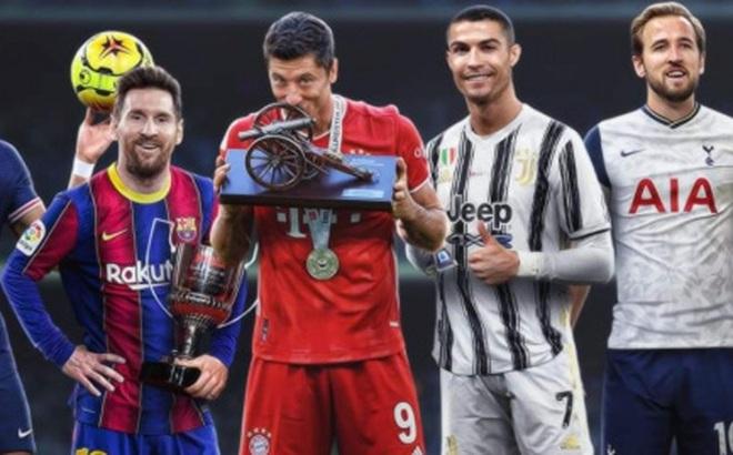 Điểm danh 5 tiền đạo xuất sắc nhất châu Âu 2020/2021