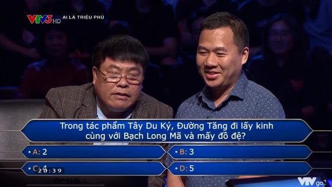 Ai là triệu phú: Người chơi gặp khó khăn vì câu hỏi Đường Tăng có bao nhiêu đồ đệ? - Ảnh 2.