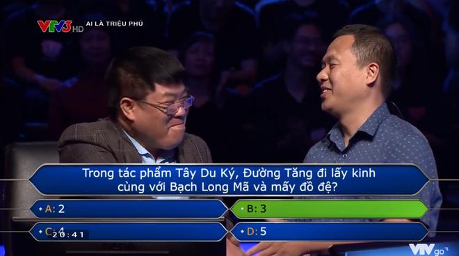 Ai là triệu phú: Người chơi gặp khó khăn vì câu hỏi Đường Tăng có bao nhiêu đồ đệ? - Ảnh 3.