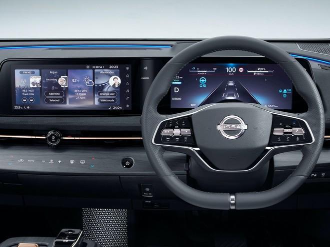 Soi ô tô điện đẹp long lanh, sạc đầy pin đi gần 500km đấu VinFast VF e35? - Ảnh 8.