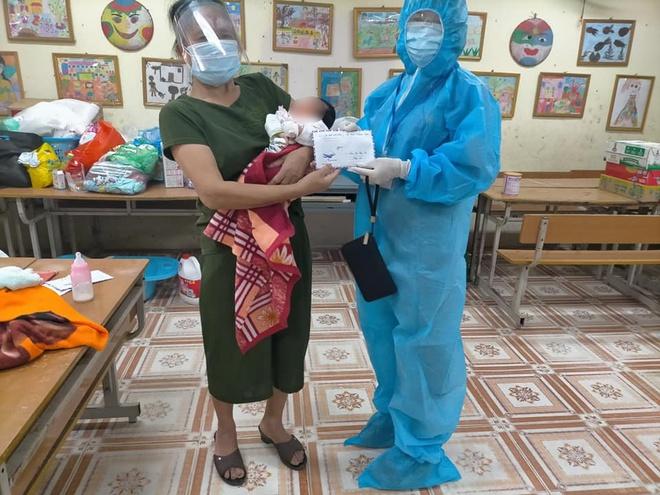 Mẹ nhiễm Covid-19, bố ung thư, bé gái sinh 3 ngày đã phải cách ly: Đợi mẹ về sẽ đặt tên cho con! - Ảnh 5.