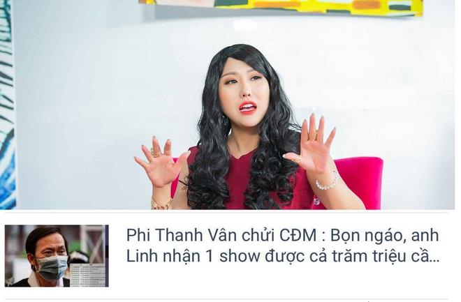 Bị nghi ngờ xúc phạm cộng đồng mạng, Phi Thanh Vân bức xúc: Tôi sẽ khởi kiện - Ảnh 2.