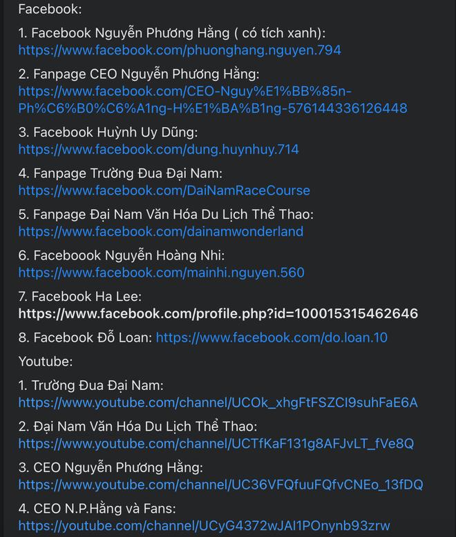 Trước giờ livestream, fanpage của bà Phương Hằng biến mất: Đây là những kênh chính thức để mọi người có thể theo dõi livestream - Ảnh 3.