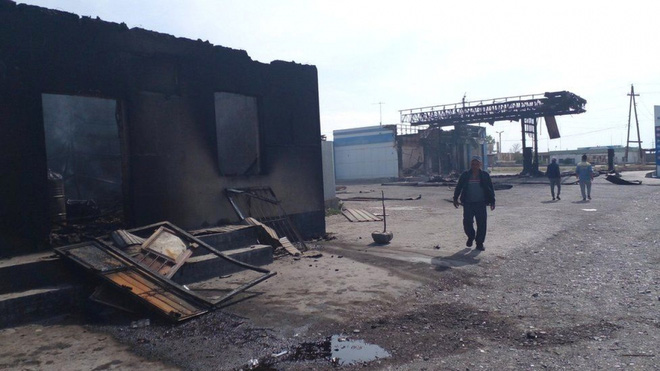 Căn cứ Mỹ ở Iraq hứng đòn tập kích rocket - QĐ Ukraine cấm trại binh lính, chuẩn bị đánh lớn ở Donbass? - Ảnh 1.