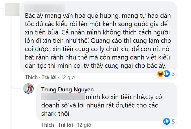 CEO muối tôm phản pháo vì bị nói lên Shark Tank xin tiền không biết ngượng - Ảnh 3.