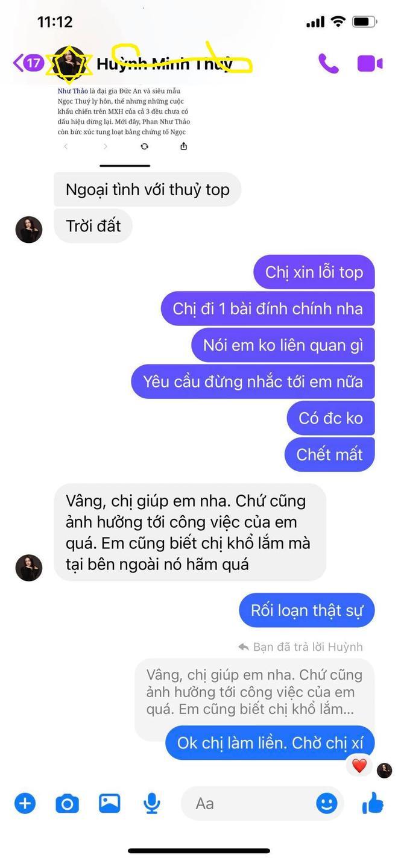 Phản ứng của Thủy Top khi bị nghi ngờ ngoại tình với chồng Phan Như Thảo - Ảnh 3.