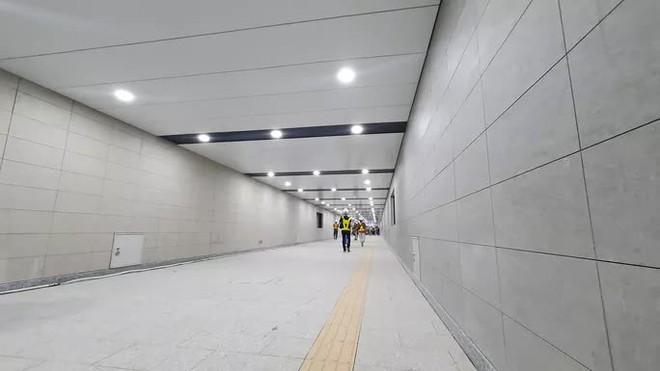 Kiến trúc ấn tượng bên trong ga Ba Son sâu 20m dưới lòng đất - Ảnh 2.