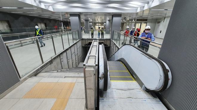 Kiến trúc ấn tượng bên trong ga Ba Son sâu 20m dưới lòng đất - Ảnh 11.