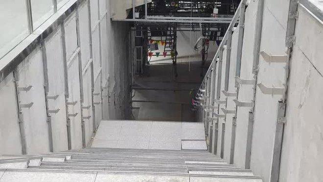 Kiến trúc ấn tượng bên trong ga Ba Son sâu 20m dưới lòng đất - Ảnh 14.
