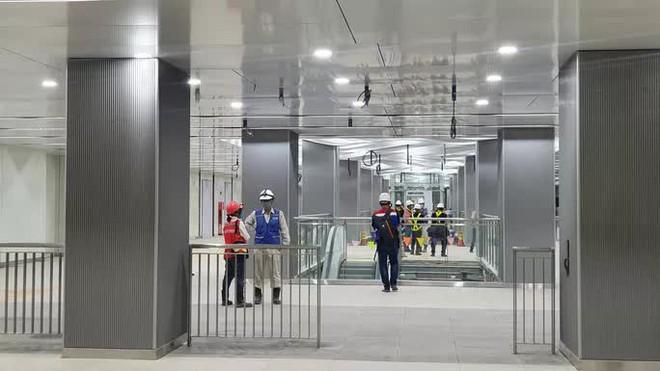 Kiến trúc ấn tượng bên trong ga Ba Son sâu 20m dưới lòng đất - Ảnh 5.
