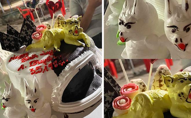 Thanh niên 9x được tặng bánh sinh nhật có hình thú kỳ quái, dân mạng xem xong không đoán ra được tuổi gì!