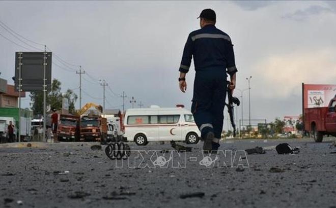 Tấn công rocket nhằm vào căn cứ quân sự của Iraq