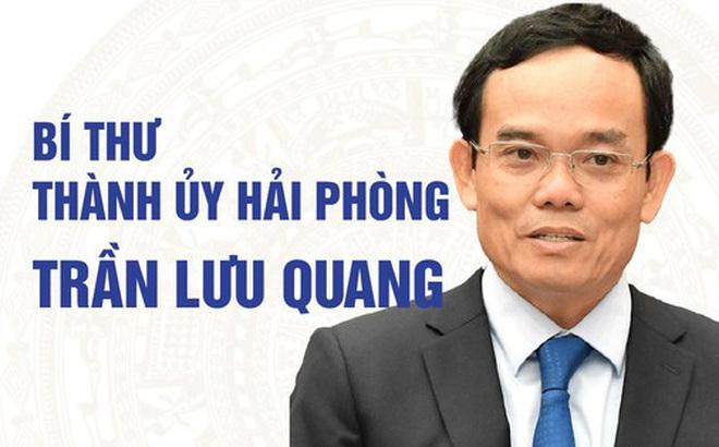 Chân dung tân Bí thư Thành ủy Hải Phòng Trần Lưu Quang