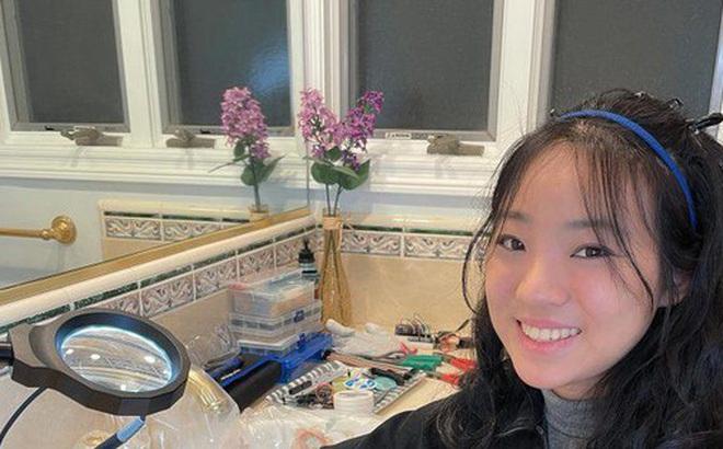 Nữ sinh trung học sáng chế máy đo địa chấn chính xác, siêu rẻ