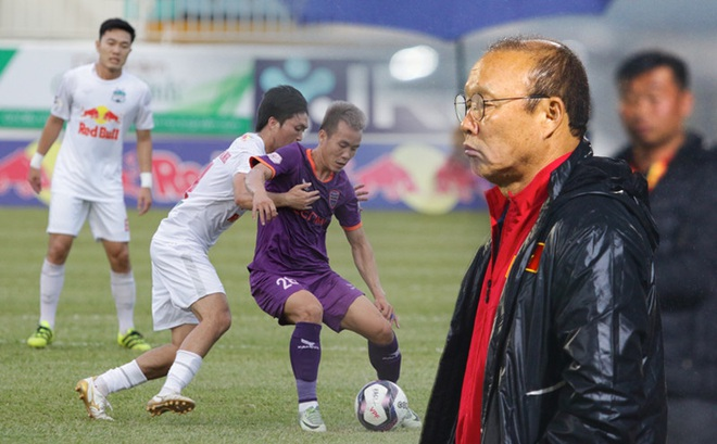 """HAGL """"sẩy chân"""", HLV Park Hang-seo đột nhiên gánh nỗi lo cực độ trước """"ngày phán xử"""""""