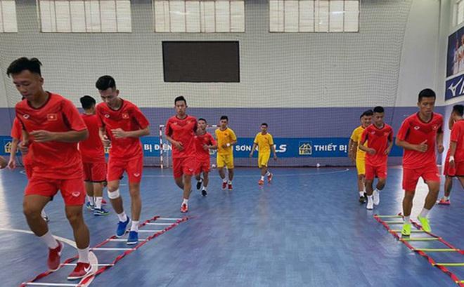 Tập trung đội tuyển futsal: Nhiều nhân tố mới