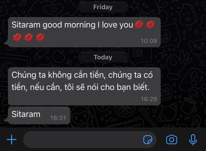 Dòng tin nhắn bằng Google dịch mẹ chồng người Ấn Độ gửi con dâu Việt giữa tình hình dịch bệnh nghiêm trọng - Ảnh 2.