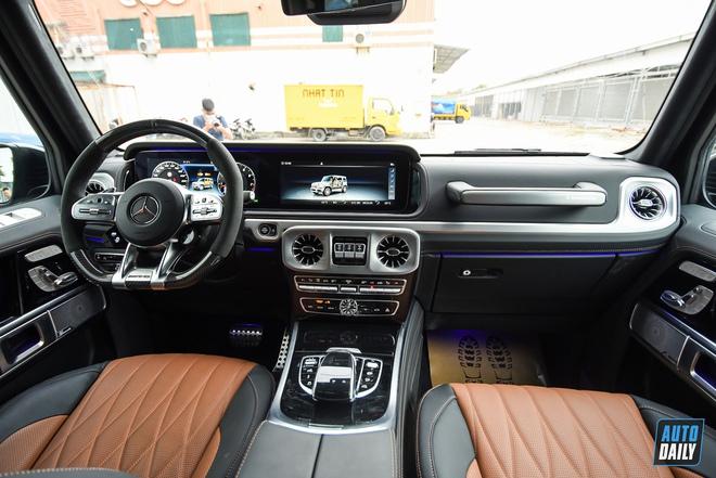 Được thay áo mới, ông vua địa hình Mercedes-AMG G63 2021 có giá lên tới hơn 12 tỷ đồng - Ảnh 5.