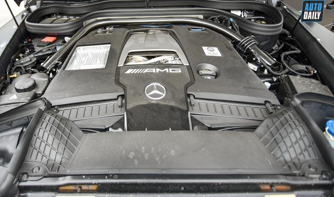 Được thay áo mới, ông vua địa hình Mercedes-AMG G63 2021 có giá lên tới hơn 12 tỷ đồng - Ảnh 6.