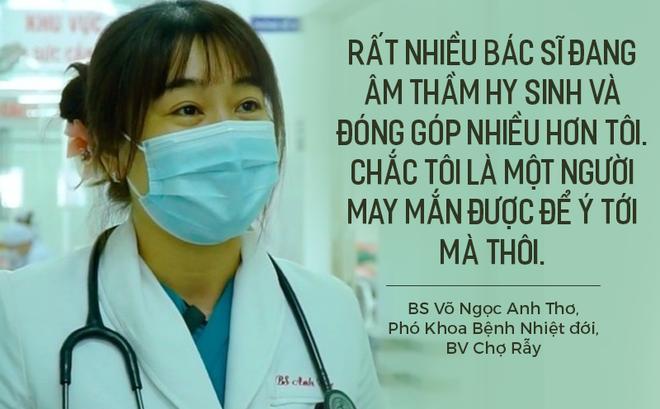 Nữ bác sĩ BV Chợ Rẫy được Forbes vinh danh: Bệnh nhân chuyển đi hết, tôi biết mình đang đối mặt với kẻ thù nguy hiểm