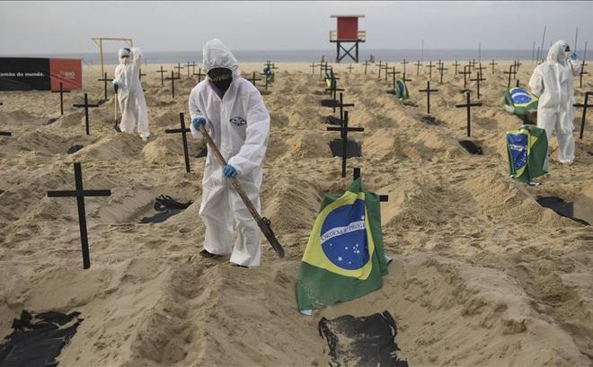 Quốc gia Nam Mỹ khốn khổ vì COVID-19 tái bùng phát: Số ca tử vong vượt mốc 400.000, lọt top đầu thế giới