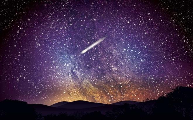"""Đêm nay, Việt Nam đón """"đỉnh"""" mưa sao băng từ sao chổi Halley nổi tiếng"""