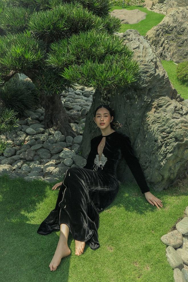 Diễn viên Mai Thanh Hà khoe khéo vẻ gợi cảm, vóc dáng nuột nà - Ảnh 9.