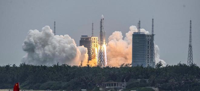 Lầu Năm Góc lên kế hoạch bắn rơi tên lửa Trường Chinh 5B của Trung Quốc? - Ảnh 1.