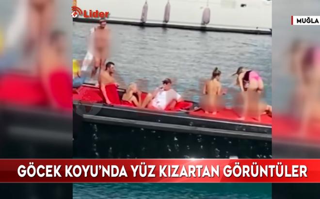 Vô tư khỏa thân chụp ảnh trên du thuyền Thổ Nhĩ Kỳ, nhóm phụ nữ gặp rắc rối với cảnh sát
