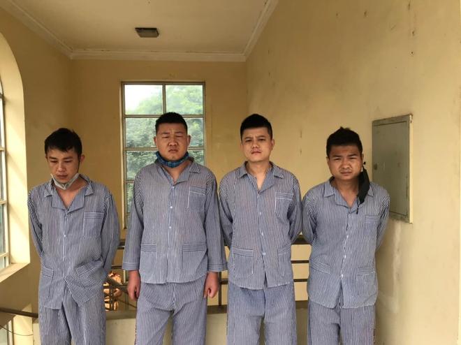 Tuyên Quang bắt giữ 14 người Trung Quốc sống chui - Ảnh 2.