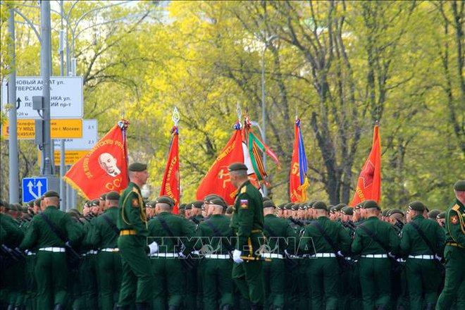 Nga sẵn sàng cho lễ duyệt binh kỷ niệm 76 năm Chiến thắng phát xít - ảnh 7