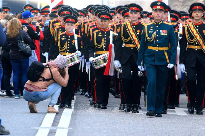 Nga sẵn sàng cho lễ duyệt binh kỷ niệm 76 năm Chiến thắng phát xít - ảnh 8
