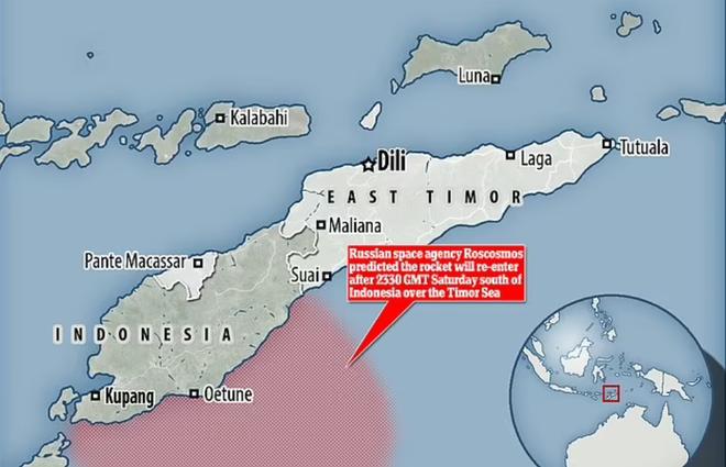 NÓNG: Nga dự báo tên lửa Trung Quốc sẽ rơi xuống Đông Nam Á, gần khu vực đông dân cư - Ảnh 1.
