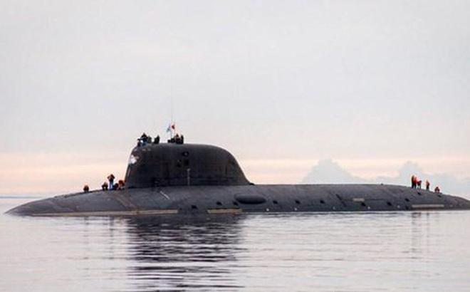 Tàu ngầm hạt nhân Kazan gia nhập Hải quân Nga