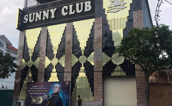 Công an Vĩnh Phúc điều tra thông tin nữ nhân viên quán Bar Sunny