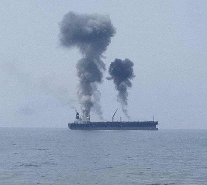 Nổ tàu dầu ngoài khơi Syria, thông tin đang cập nhật liên tục - Israel báo động lực lượng quân đội lớn chưa từng có trong lịch sử - Ảnh 1.