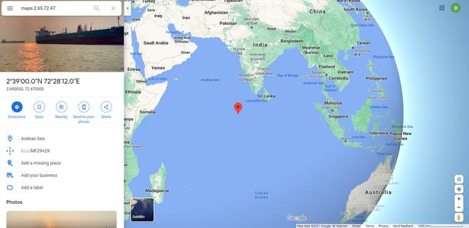 Tên lửa Trường Chinh 5B đã lao xuống biển Ả rập, vỡ thành nhiều mảnh - Ảnh 3.