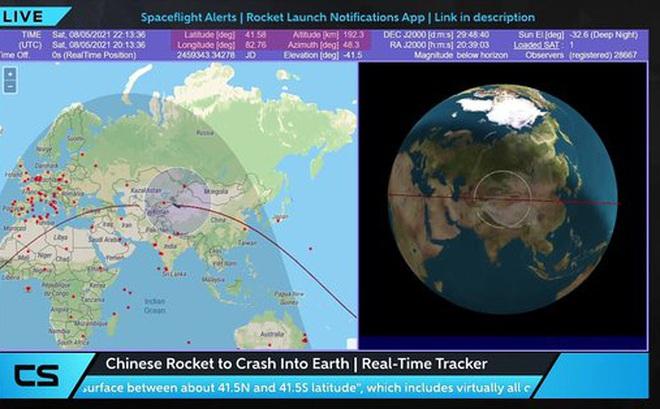 Tin mới nhất về thời gian, địa điểm tên lửa Trung Quốc rơi xuống: Đông Nam Á có thể gặp nguy!