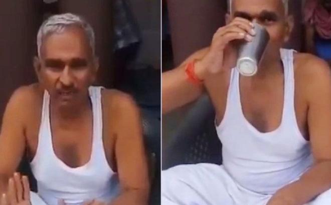 Số ca nhiễm và tử vong tăng kỷ lục, nghị sĩ Ấn Độ vẫn vô tư thị phạm uống nước tiểu bò để chống Covid-19