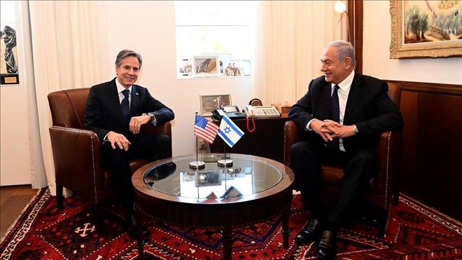 Ngoại trưởng Mỹ tới Trung Đông: Yên lòng đồng minh nhưng xung đột 73 năm đằng đẵng vẫn bỏ ngỏ - Ảnh 1.