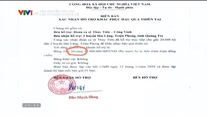 VTV lại réo tên Hoài Linh, Thủy Tiên, MC Phan Anh vì câu chuyện từ thiện, những tờ giấy A4 sao kê trở thành tâm điểm - Ảnh 4.