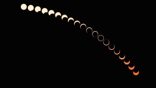 Chiêm ngưỡng nhật thực đầu tiên trong năm 2021 - Ảnh 1.