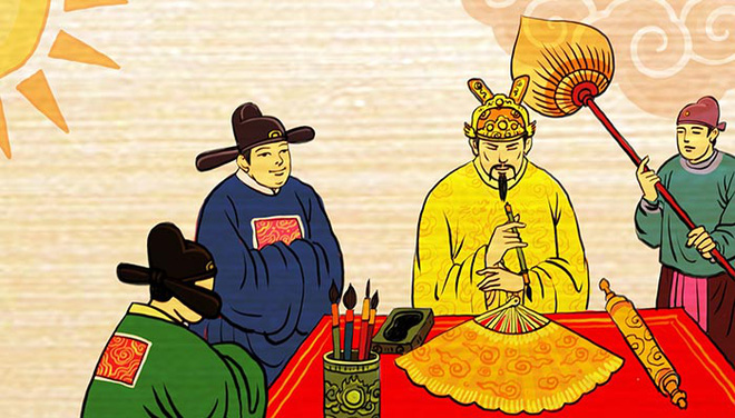 Tại sao các vị vua thường ban quạt đồi mồi, ngà voi… cho các quan trong Tết Đoan Ngọ? - Ảnh 1.